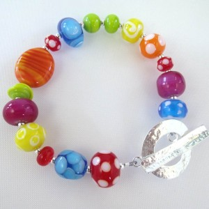 crayola bracelet by Sailorgirl Jewelry