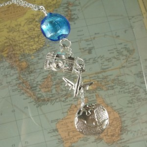 Bon Voyage necklace by Sailorgirl Jewelry