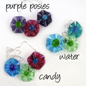 pinwheel pop necklaces by sailorgirl jewelry