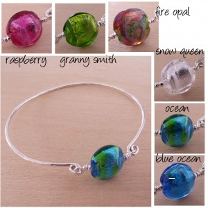 color bangle by sailorgirl jewelry