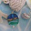 mini seashore pendant by sailorgirl jewelry