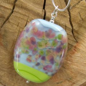 cherry bloom pendant by sailorgirl jewelry