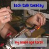 tech talk torch by sailorgirl jewelry