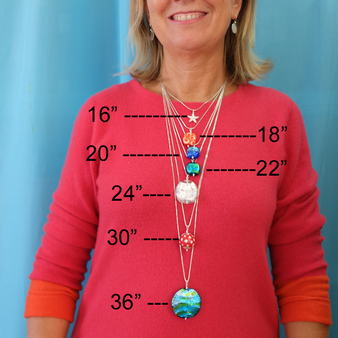 A guide to chain lengths sailorgirl jewelry chain lengths by sailorgirl jewelry aloadofball Gallery