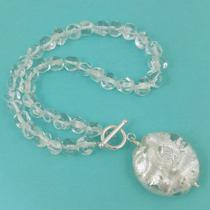 day 15 – the snow queen crystal necklace