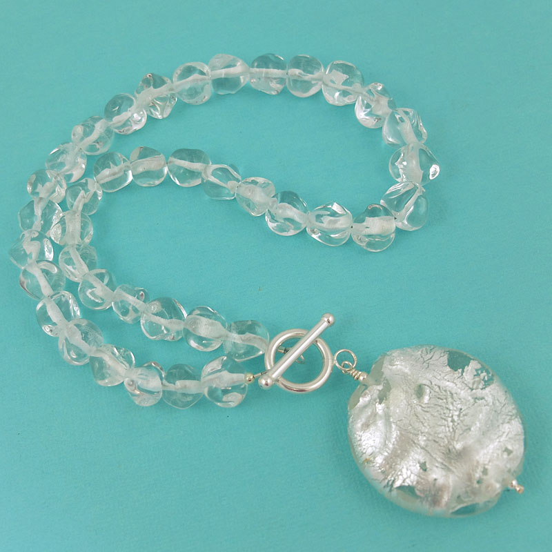 Snow Queen Diamontrigue Jewelry: Day 15 – The Snow Queen Crystal Necklace