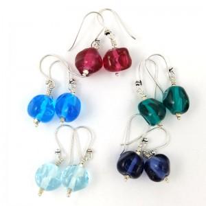 jewel earrings by sailorgirl jewelry