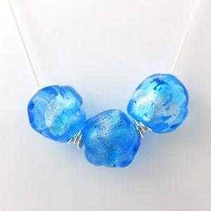 glacier necklace by sailorgirl jewelry