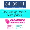 84 days until one of a kind show sailorgirl jewelry