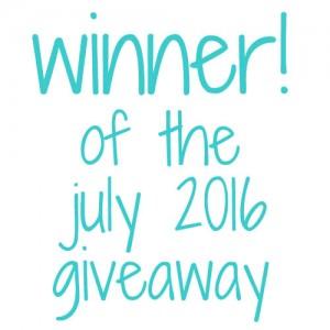 winner july 2016