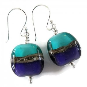 marvellous horizon earrings by sailorgirl jewelry