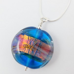 water opal pendant by sailorgirl jewelry