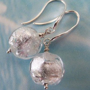 snow queen earrings by sailorgirl jewelry