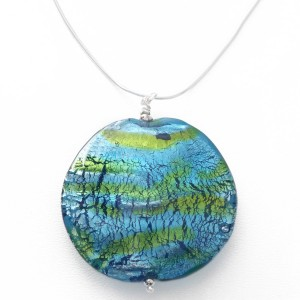 XL Ocean pendant by Sailorgirl Jewelry