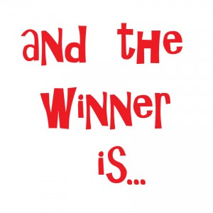 the spring giveaway winner is…